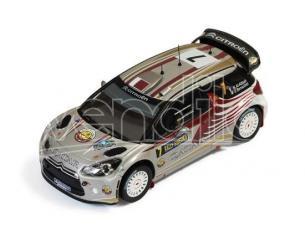 Ixo model RAM503 CITROEN DS3 WRC N.7 21st SWEDEN 2012 ATTIYAH-BERNACCHINI 1:43 Modellino