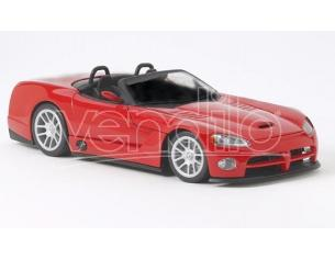 Hot Wheels Mattel 53836 DODGE VIPER SRT 10 ROADSTER ROSSA 1/18 Modellino