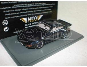 Neo 43273 PORSCHE 930 TURBO SE USA FLATNOSE BLU 1:43 Modellino