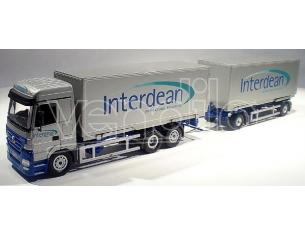 NZG 548/02 MB ACTROS RIGID AND TRAILER 1/50 Modellino