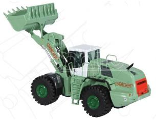 NZG 689/09 Liebherr Geiger L 586 2PLUS2 Wheel Loader 1:50 Die-cast Modellino