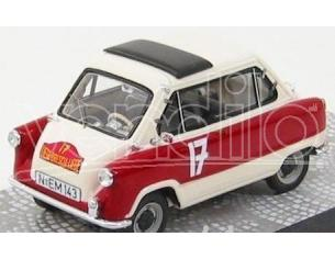 Premium Classixxs 18053 ZUNDAPP JANUS n.17 1/43 RALLY LIEGI- Modellino