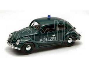 Rio 4181 VW POLIZIA 1953 BLACK 1/43 Modellino