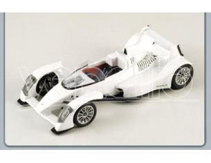 Spark Model S0628 CAPARO T 1 2007 WHITE 1:43 Modellino