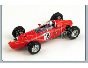 Spark Model S1153 BRM G.BAGHETTI 1964 N.18 GERMAN GP 1:43 Modellino