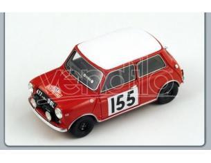 Spark Model S1190 MORRIS COOPER N.155 MONTE CARLO RALLY 1963 1:43 Modellino