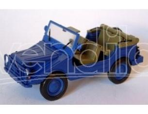 Starline STR50983 DKW MUNGA 4 THW OPEN BLUE 1:43 Modellino