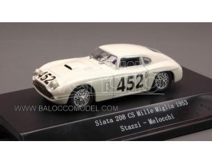 Starline STR54021 SIATA 208 CS N.452 34th MM 1953 STAZZI-MELOCCHI 1:43 Modellino