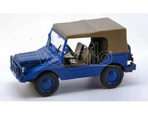 Starline STR60983 DKW MUNGA 4 THW CLOSED BLUE 1:43 Modellino