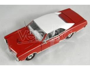 Tin's Manufactured 79701 Pontiac  GTO 1967 Hard Top Rossa 1/24 Modellino